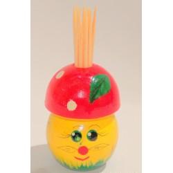 """Cure dents """"Petit champignon"""", 7 cm"""