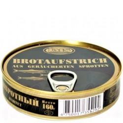 Pâté de sprat 160 gr/ Паштет шпротный