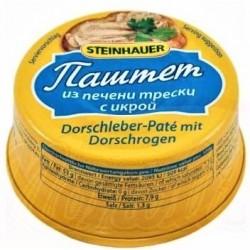 Pâté de morue 90 gr/Паштет из печени трески с икрой