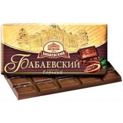 Chocolat amer, 100 gr / Шоколад горький «Бабаевский» 100г