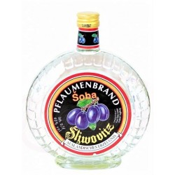 "Eau-de-vie à la prune ""Sliwovitz"" 40 % , 0.7L/ Soba / Алкогольный напиток ""Сливовиц"" 40% алк"