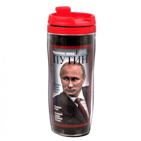 """Термостакан """"Путин Обложка"""", 350 мл/ Verre """"Poutine"""""""