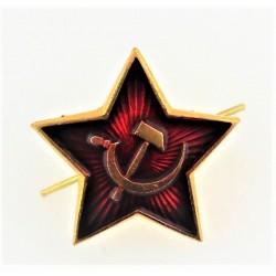 Insigne 2,3х2,3cm/Красная звезда