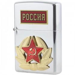 "Briquet ""RUSSIE "" 5,5х3,5 cm"